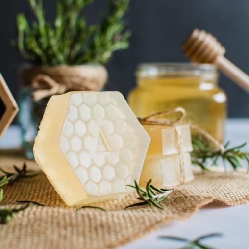 Sabó de glicerina amb mel de lavanda 60g | Elaborat per les Germanes Clarisses de Balaguer | Alemany.com