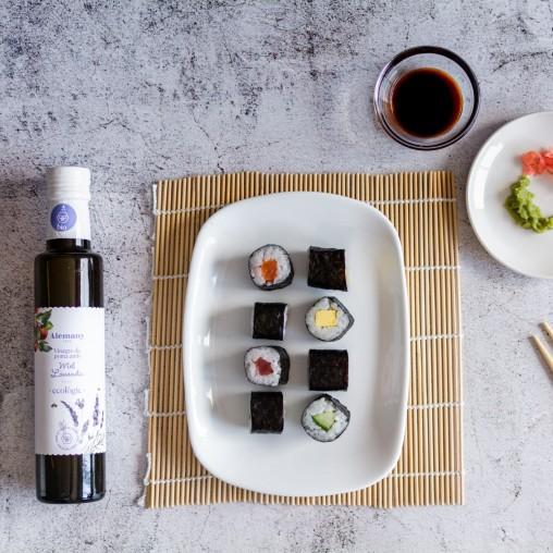 Sushi amb Vinagre de poma ecològic amb mel de lavanda Alemany