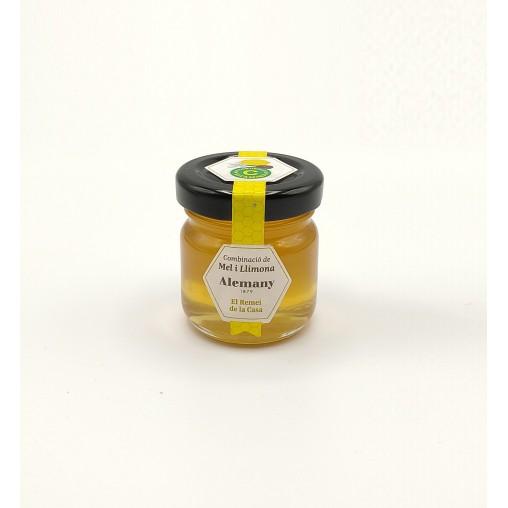 Miel con limón y Vitamina C 50g Alemany