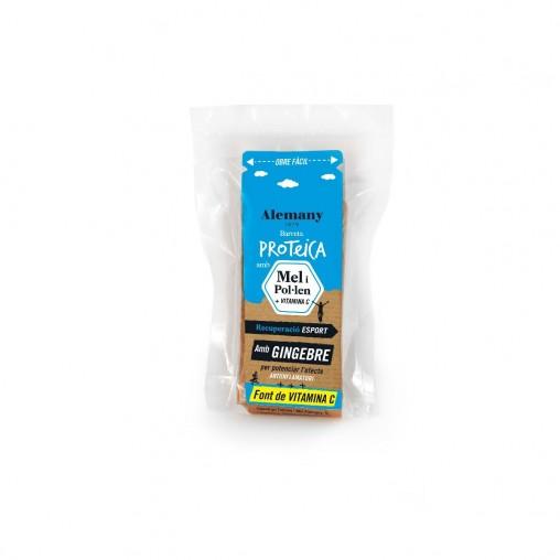 Barretes proteiques amb Mel i Pol·len 'Recuperació' per esportistes Pack 15 unitats