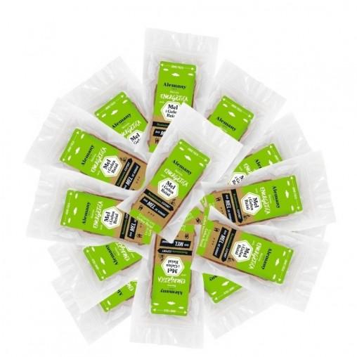 Pack 15 Barritas energéticas con miel 'Resistencia' - Sin cafeína