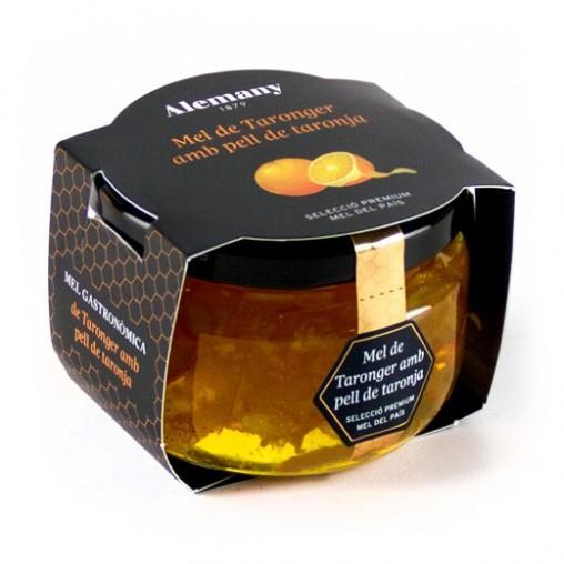 Mel de taronger amb pell de taronja Alemany