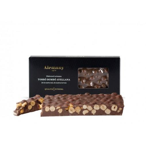 Comprar Turrón Chocolate y Avellanas Alemany 300g