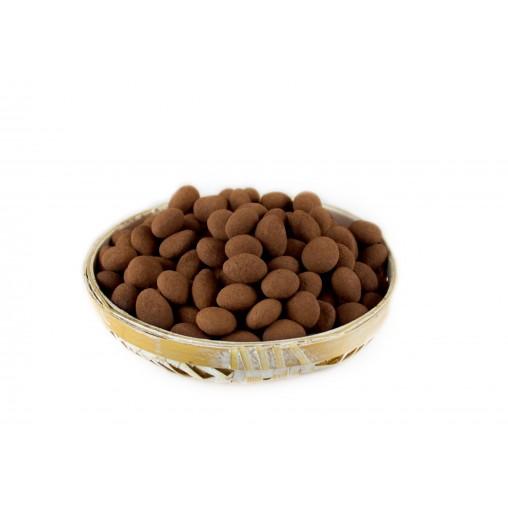 Ametlla Marcona recoberta de xocolata negra