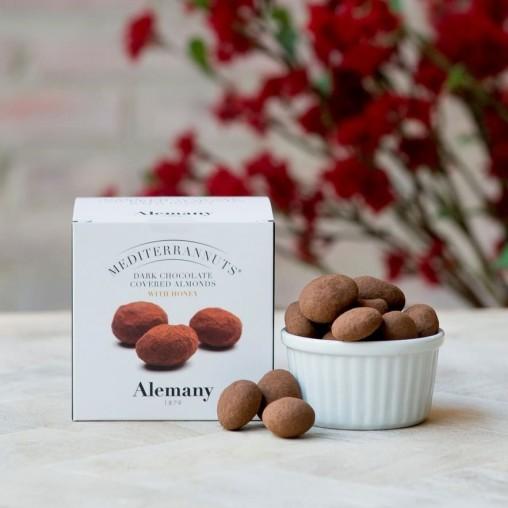 Almendra Marcona con chocolate negro | Alemany Online