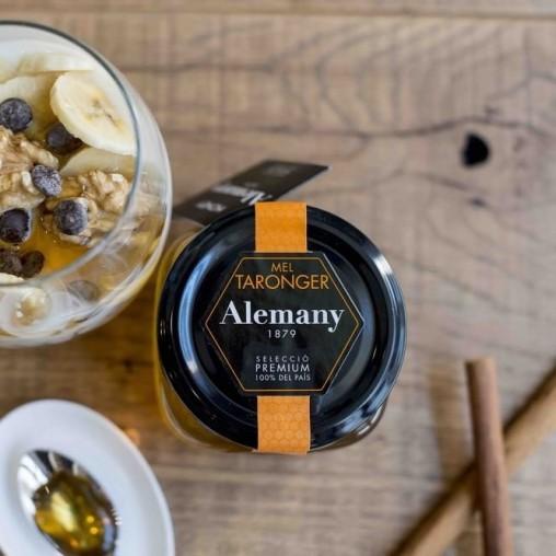Miel de naranja 250g | Miel para Postres | Alemany Online