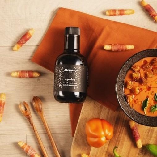Vinagreta para Ensaladas Alemany |  Agridulce de cabernet sauvignon con miel de castaño