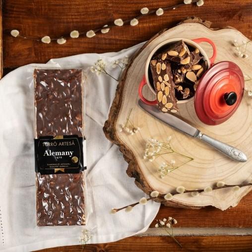Turrón Artesano Chocolate Almendras Enteras | Alemany Online