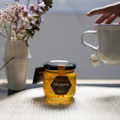 Miel de naranja 500g | Miel para Infusiones | Alemany Online