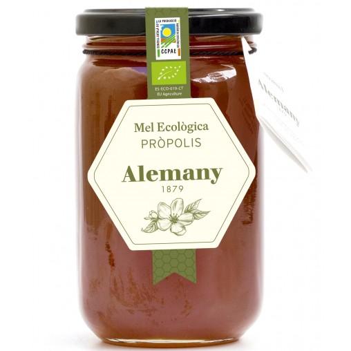 Miel ecológica con propóleo 500g  | Alemany