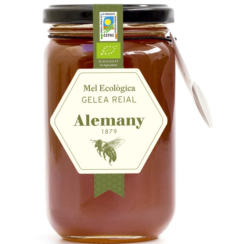 Mel amb Gelea Reial Ecològica | Alemany Online