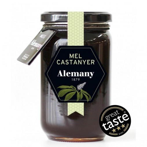 Mel de Castanyer 500g |3 estrelles Great Taste Awards