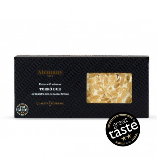 Turrón Duro Alemany 300g | Premio Great Taste Awards