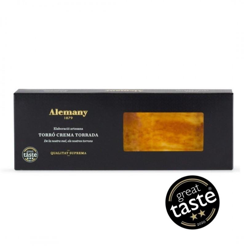 Torró crema torrada 500g Great Taste Awards | Alemany Online