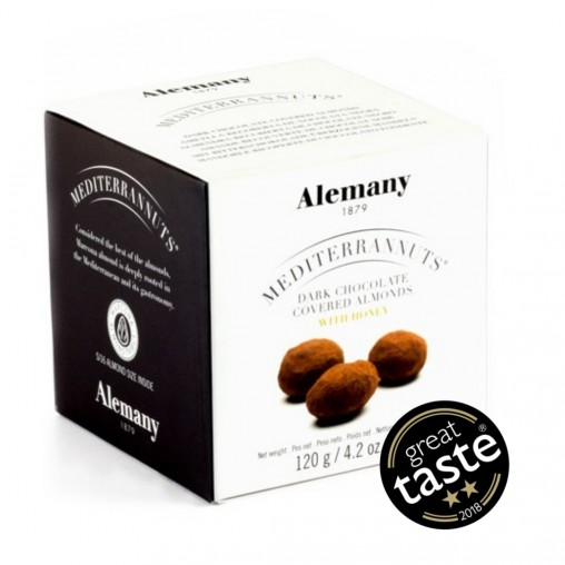 Almendra con chocolate negro Alemany | Great Taste 2018