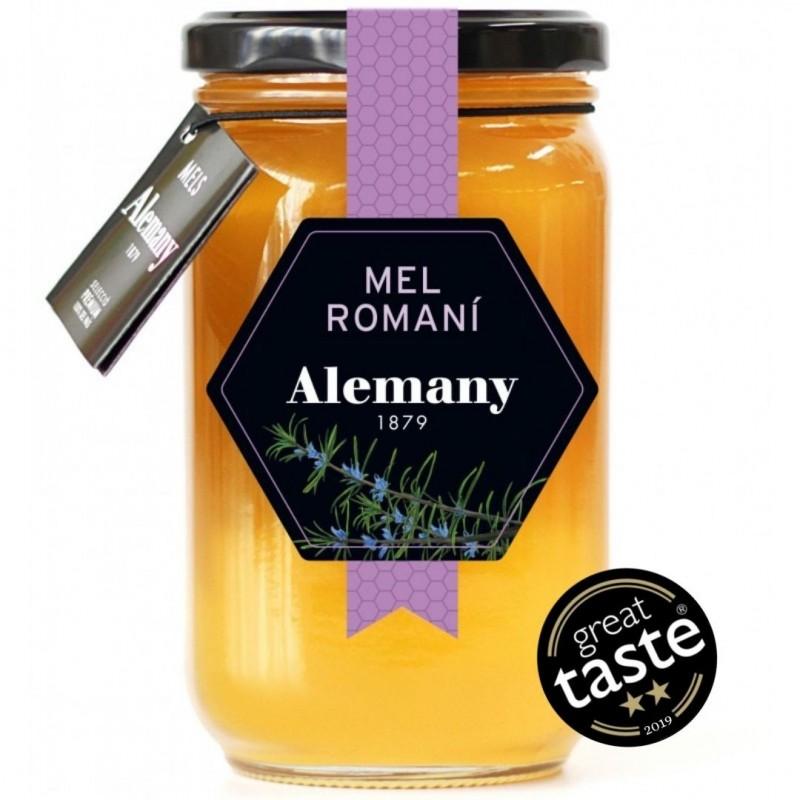 Miel de romero 500g Alemany   Great Taste 2019