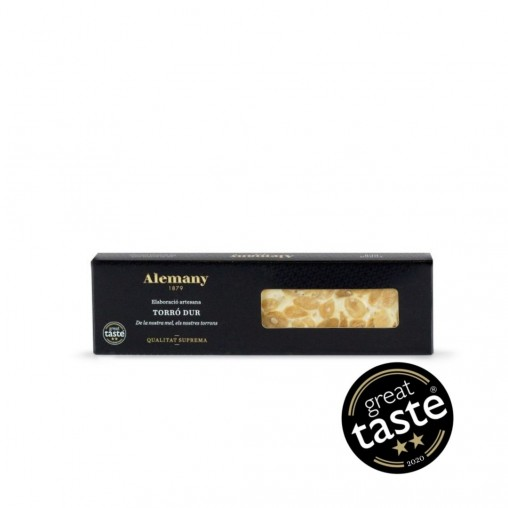Turrón duro Alemany 150g | Great Taste Awards 2020