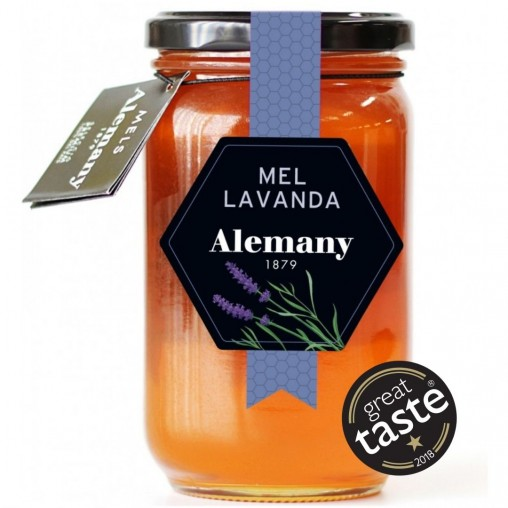 Miel de lavanda 500g Alemany | Great Taste Awards 2018