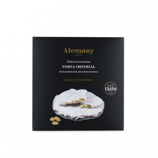 Turrón Torta Imperial Alemany 100g | Great Taste Awards 2020