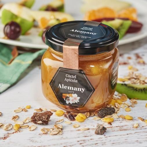 Miel con polen, jalea real y propóleo 250g    Comprar Miel Online