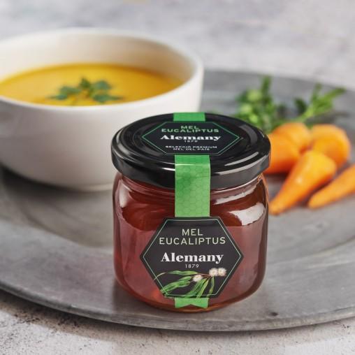 Crema de verduras con miel de eucalipto Alemany | Comer Saludable