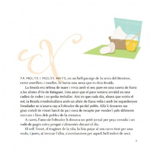 """Cuento """"La princesa de xocolata"""" de Montse Rubinat (en catalán) interior 2"""