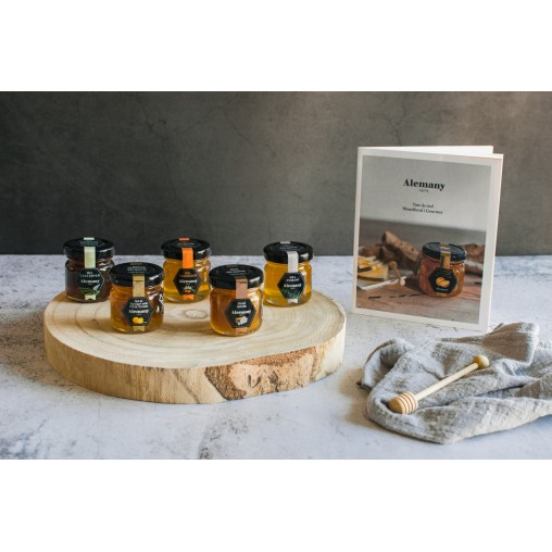 Tast de mels Alemany amb llibre guia de tast