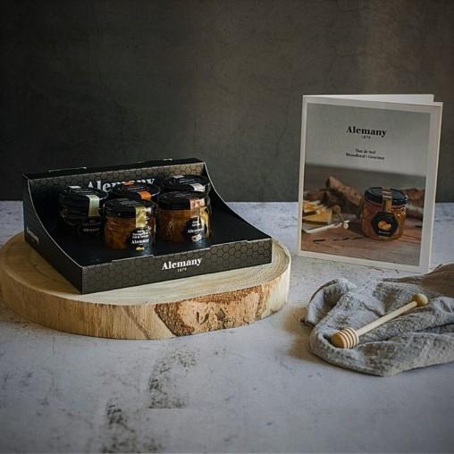 Caixa Tast de mels amb llibret guia de tast | Alemany 1879