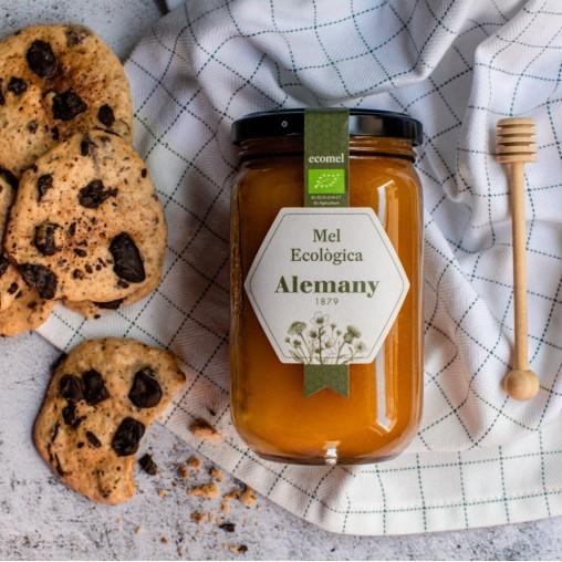 Miel Ecológica de Flores 500g  Alemany   Galletas Cookies