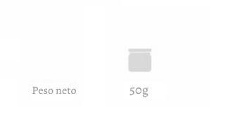 Peso neto Oleomel 50g