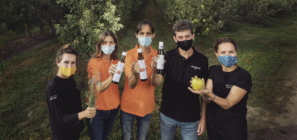 Nuevo vinagre de manzana ecológico con miel de lavanda con Vinagres Badia y Cal Valls Vinagres Badia i Cal Valls
