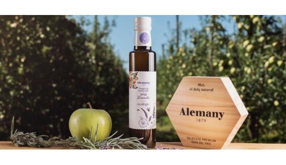 Amanim junts el vinagre de poma de Lleida amb mel de lavanda