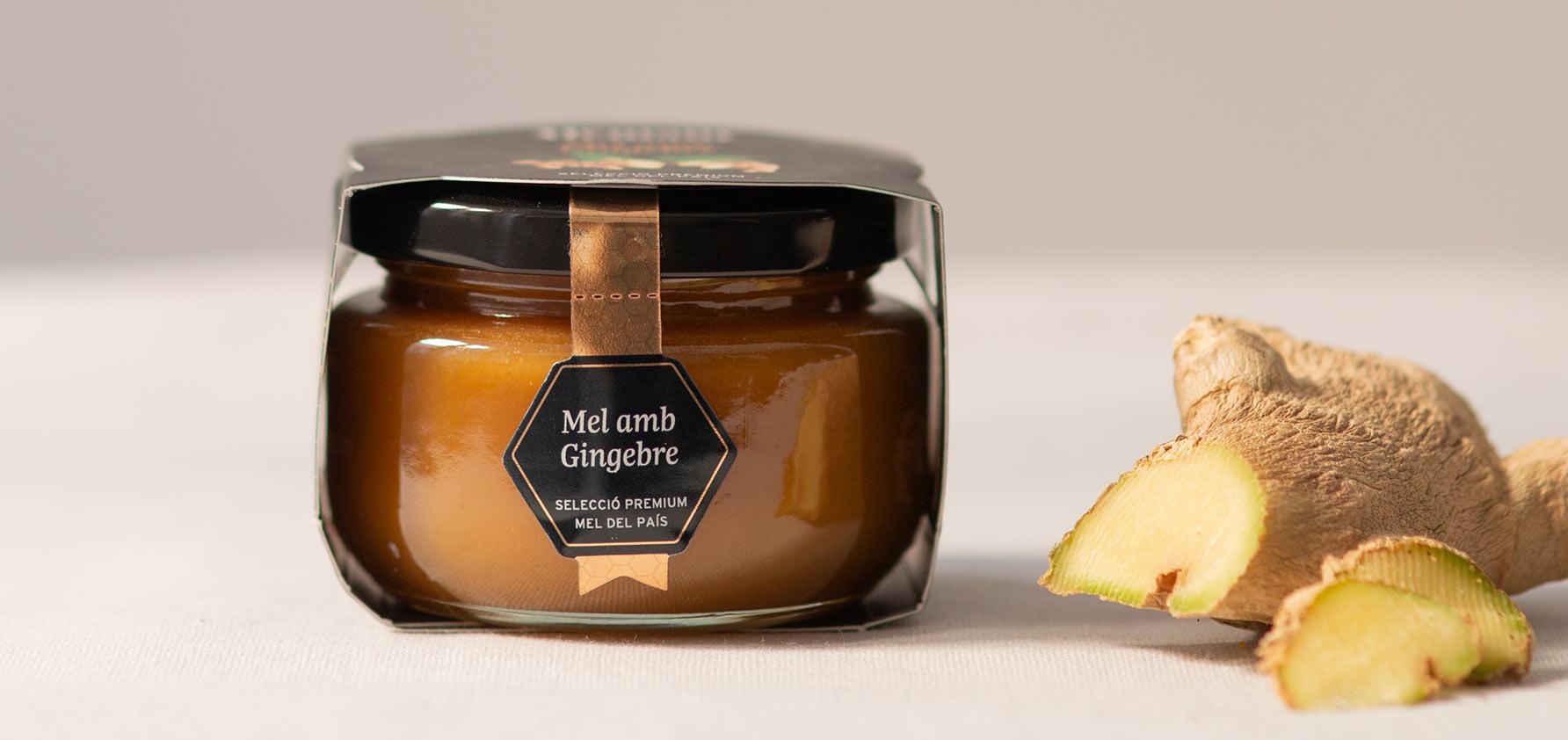 Cap de llom amb reducció agredolça (mel amb gingebre) i carxofes confitades
